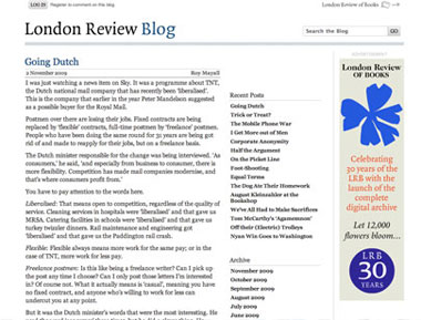 London Review of Books - Blog